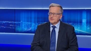 Komorowski: Tusk nie odbierze poparcia PiS