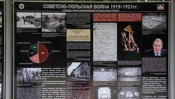 """""""Prowokacja i profanacja"""". IPN o rosyjskich tablicach na cmentarzu w Katyniu"""