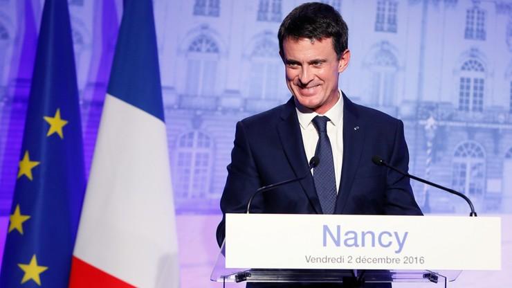 Valls zgłosi swą kandydaturę w wyborach prezydenckich