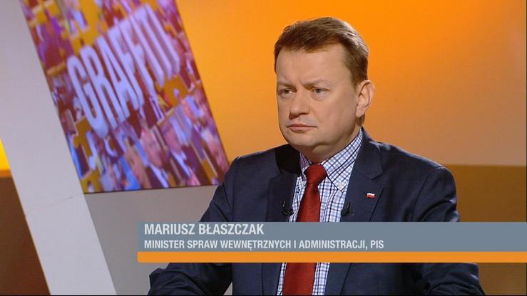 Błaszczak chce, żeby Schetyna zapłacił za ochronę Sejmu. Prawie dwa i pół miliona złotych