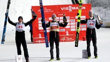 PŚ w skokach: Wyrównany rekord Norwegii i psychiczna wygrana Halvora Egnera Graneruda