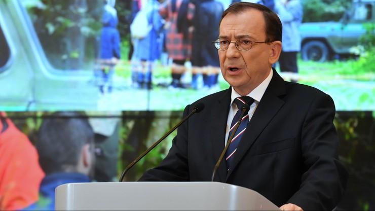 """Mariusz Kamiński: sugerowanie przez byłego ministra, że policja """"zabija ludzi"""", jest niedopuszczalne"""