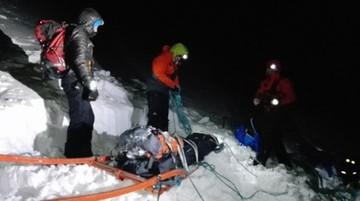21-letni Polak zginął w słowackich Tatrach