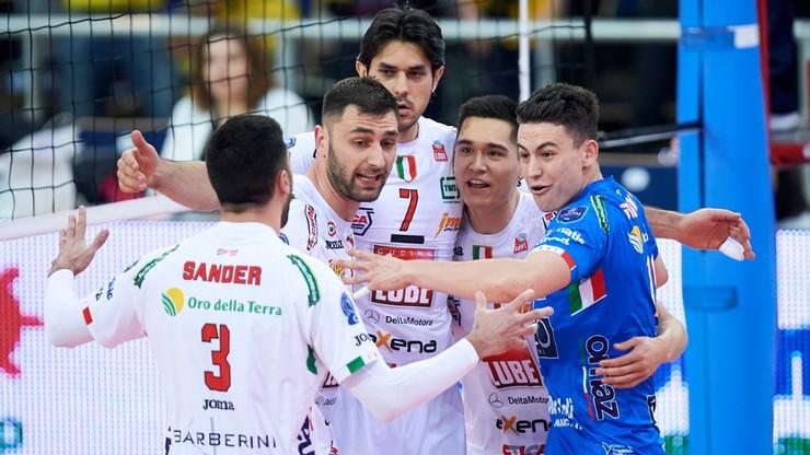 Liga Mistrzów: Włoskie derby dla Lube, Perugia za mocna dla Lokomotiwu