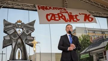Duda: gdyby nie było Radomia, może nie byłoby Solidarności