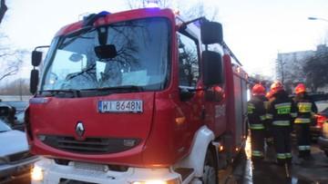 Pożar w szpitalu pediatrycznym w Warszawie. Trzeba było ewakuować dzieci