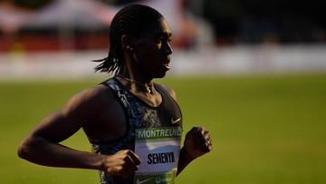 Tokio 2020: Semenya bez minimum w biegu... zorganizowanym dla niej