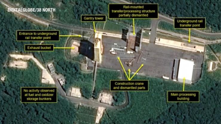 Denuklearyzacja Korei Północnej. Zdjęcia wskazują, iż nie ma postępów