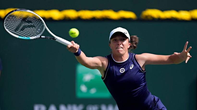 WTA w Indian Wells: Iga Świątek rozbiła rywalkę i zagra w 1/8 finału