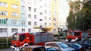 Ewakuowani mieszkańcy z bloków w Koszalinie wracają do domów