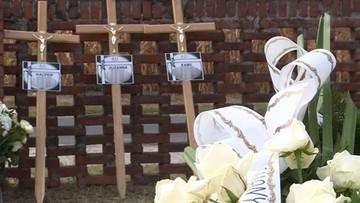 Pogrzeb Kamila, Zuzi i Kacpra - rodzeństwa, które zginęło w Darłówku