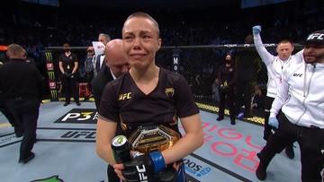 UFC 261: Rose Namajunas mistrzynią UFC! Zhang znokautowana efektownym high kickiem