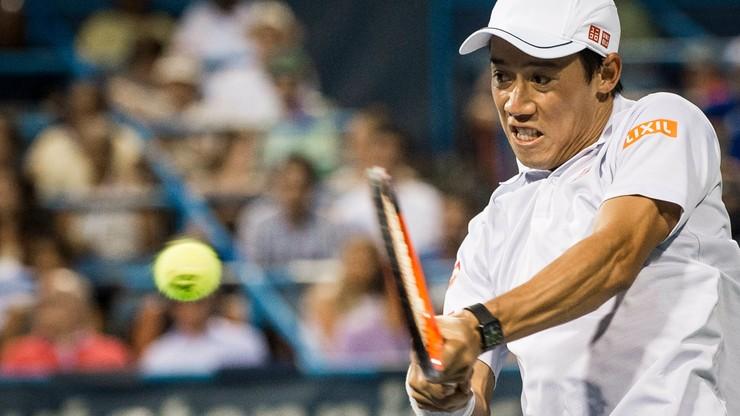 ATP w Waszyngtonie: Nishikori zagra w półfinale