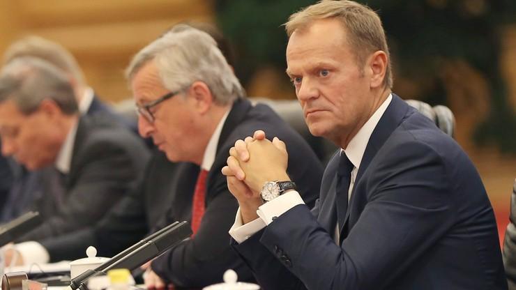 Tusk, Juncker i Mogherini: UE całkowicie popiera demokratycznie wybrany w Turcji rząd