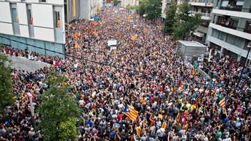 W protestach w Katalonii wzięło udział ok. 900 tys. osób