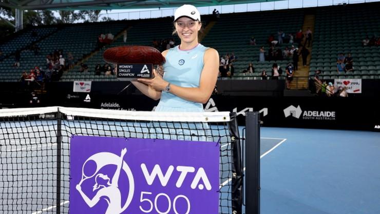 Ile zarobiła Iga Świątek podczas turnieju WTA w Adelajdzie?