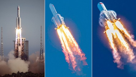 Chińska rakieta spadnie na Ziemię. Niestety, nie wiadomo, gdzie uderzy 21 ton złomu