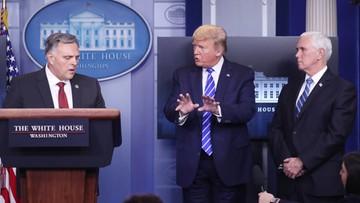 Trump wymyślił sposób na walkę z koronawirusem. Lekarze w szoku