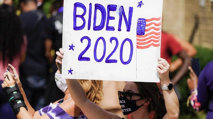 Joe Biden spotkał się w Kenoshy z rodziną Jacoba Blake'a