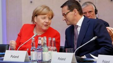Morawiecki o spotkaniu z Merkel: staramy się znaleźć konsensus m.in. ws. migracji