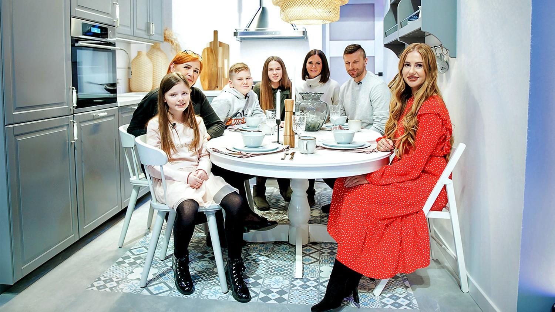 Design Dream Odcinek 3 Kuchnia Dla Duzej Rodziny Polsat Pl