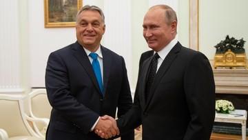 """Spotkanie Putina z Orbanem w Moskwie. """"Węgry są jednym z kluczowych partnerów Rosji"""""""