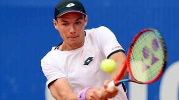 Pekao Szczecin Open: Kamil Majchrzak w drugiej rundzie, porażka Alberta Ramosa-Vinolasa
