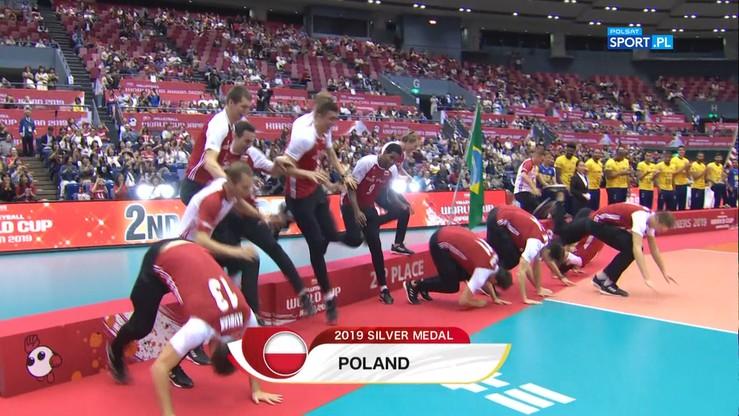PŚ: Fikołkiem na podium! Show Polaków na ceremonii medalowej