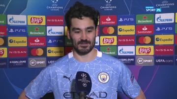 Ilkay Gundogan: Zaczęliśmy grać dopiero po stracie gola