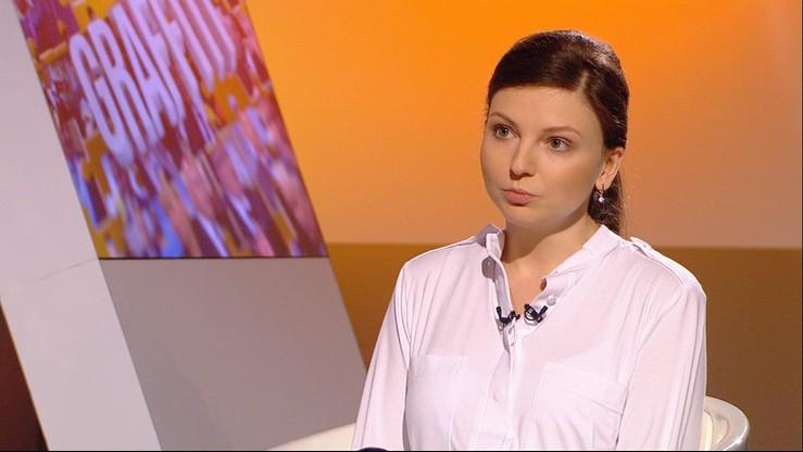 """""""To był stracony rok dla Polski"""". Monika Rosa w programie """"Graffiti"""""""