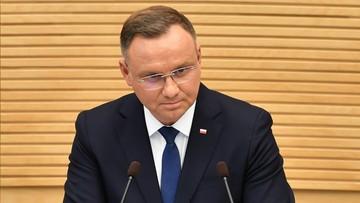 Prezydent Andrzej Duda: Niemcy nie rozważają wprowadzenia kontroli na granicy z Polską
