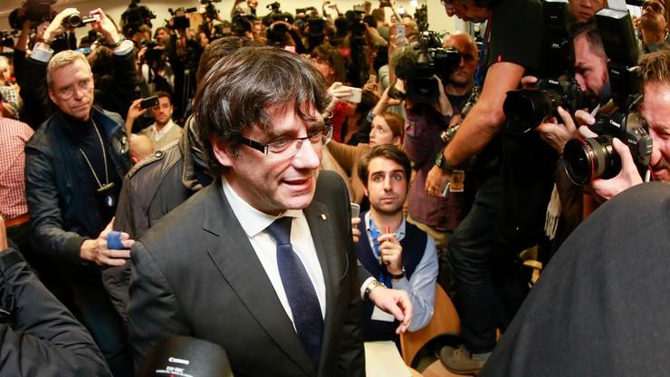 Sąd wydał zgodę na Europejski Nakaz Aresztowania wobec Puigdemonta i czterech ministrów