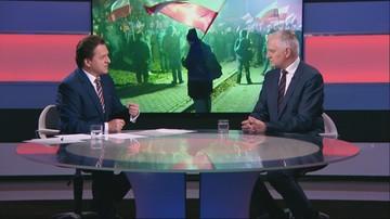 Gowin: decyzja prezydent Warszawy o zakazie marszu to nieudana prowokacja