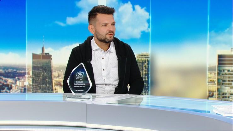 Nauczyciel Roku 2021 Dariusz Martynowicz: za tą nagrodą stoją moi uczniowi i nauczyciele