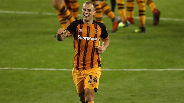 Grosicki piłkarzem miesiąca w Hull City