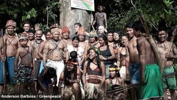 Pomóż plemieniu Munduruku walczyć z brazylijskim rządem. Podpisz petycję w obronie Amazonii