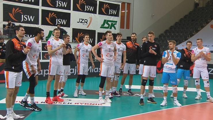 PlusLiga: Jastrzębski Węgiel pewnie wygrał z GKS