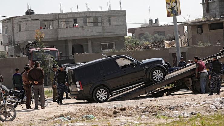 Nieudany zamach na premiera Autonomii Palestyńskiej. Koło konwoju eksplodował ładunek wybuchowy
