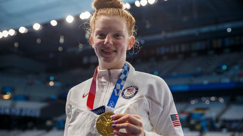 Tokio 2020: 17-letnia Lydia Jacoby złotą medalistką na 100 m st. klasycznym