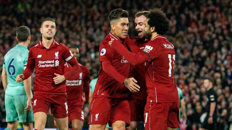 Liverpool zmiażdżył Arsenal! Hat-trick Firmino