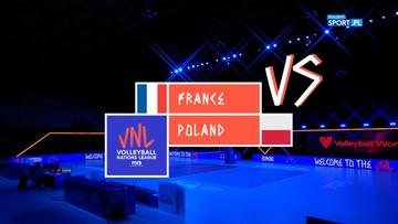 Polska – Francja 2:3. Skrót meczu