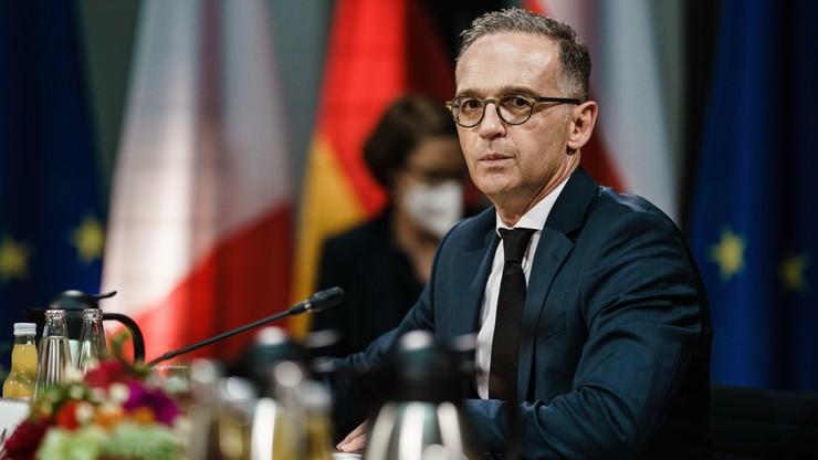 Maas: nie zostawimy naszych polskich przyjaciół samych wobec kryzysu na granicy z Białorusią