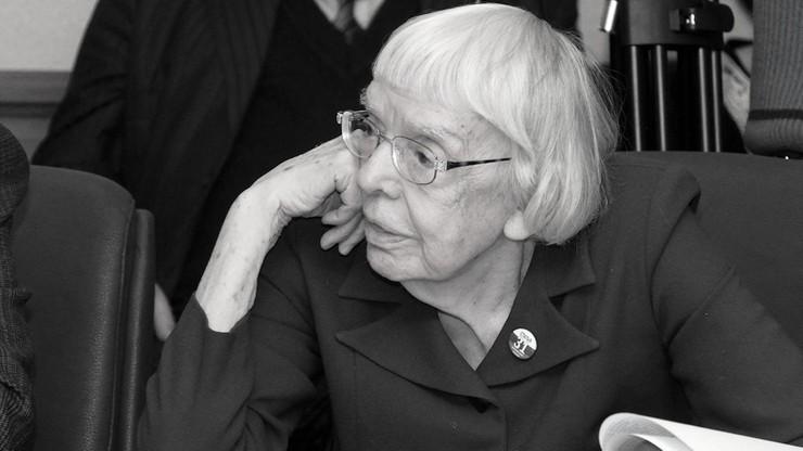 Nie żyje legendarna obrończyni praw człowieka Ludmiła Aleksiejewa