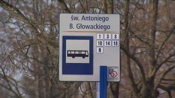 Ostrzelano autobus miejski w Sosnowcu