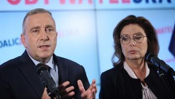 """Kidawa-Błońska przedstawiła """"pierwszego ministra w jej rządzie"""""""