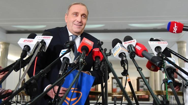 Schetyna zwrócił się do prezydenta o zwołanie Rady Bezpieczeństwa Narodowego