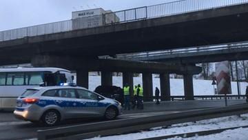 Karambol w Sosnowcu. Zderzyło się dziewięć samochodów