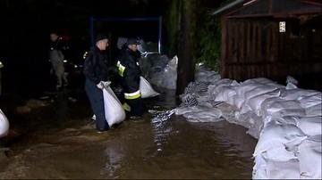 """Woda w Elblągu opada. """"Sytuacja powoli się stabilizuje"""""""