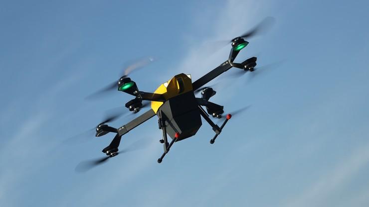 Drony połączą szpital na Stadionie Narodowym i lecznicę MSWiA. Powstanie most powietrzny