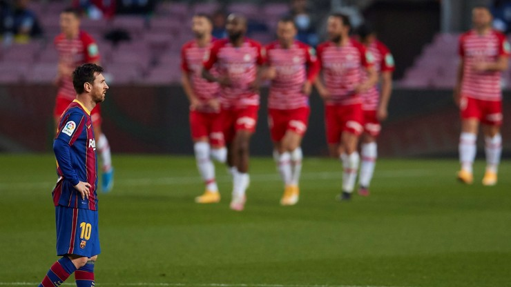 La Liga: Sensacyjna porażka Barcelony u siebie